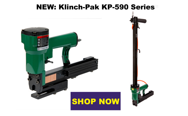 Klinch Pack KP-590 Staplers