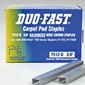Duo-Fast 7516C - 1/2 inch Fine Wire Galvanized Staples