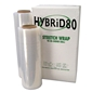 Hybrid 80 - 18 Inch Red Stretch Wrap Film