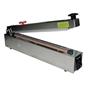 "AIE-500HCS Stainless Steel Impulse Hand Sealer 20"" with Cutter"