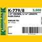 Klinch-Pak K-779/8 Galvanized Staples - 5/16 inch