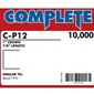 "Complete C-P12 16 Gauge 1"" Wide Crown Staples - 7/8 inch"
