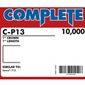 "Complete C-P13 16 Gauge 1"" Wide Crown Staples - 1 inch"