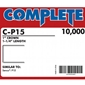 "Complete C-P15 16 Gauge 1"" Wide Crown Staples - 1 1/4 inch"