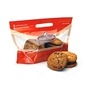 12 X 7 ½ X 3 3/4 Bottom Gusset Grab-N-Go Fresh Baked Cookie Pouch