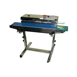 AIE-883BS Horitzontal Portable Continuous Band Sealer with Stand