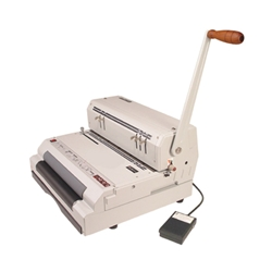 Akiles CoilMac-ECI Manual Plastic Coil Punch with HD Electric Coil Inserter