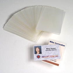 Akiles Business Card Size Laminating Pouch box of 500