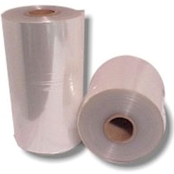 10 inch 75 gauge Center Fold PVC Shrink Wrap Film