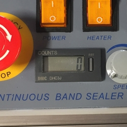 Counter for CBS 880 Band Sealer