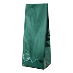 2lb (900g) Foil Gusseted Bags - Green