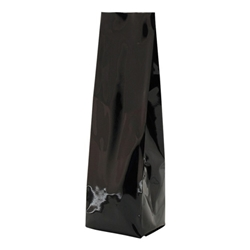 12-16oz. (450g) Side Seal Foil Gusseted Bags - Matte Black
