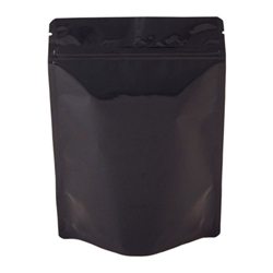 16oz (450g) Metallized Stand Up Pouch Zip Pouches – BLACK
